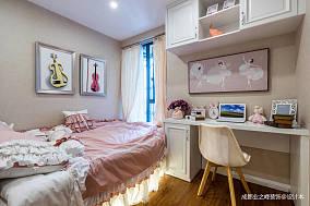 悠雅77平新古典三居卧室装饰美图