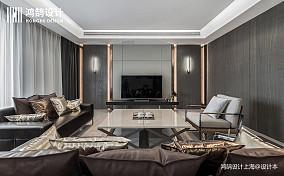 大气220平现代四居客厅效果图欣赏