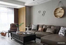 转换(旺西花苑)三居现代简约家装装修案例效果图