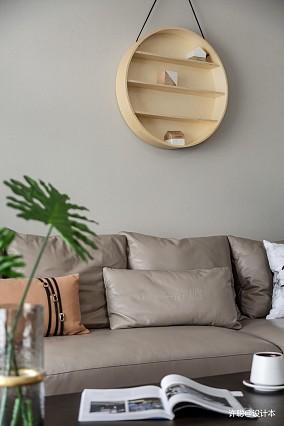 典雅87平现代三居客厅布置图三居现代简约家装装修案例效果图