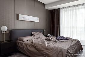 华丽80平现代三居卧室设计美图三居现代简约家装装修案例效果图