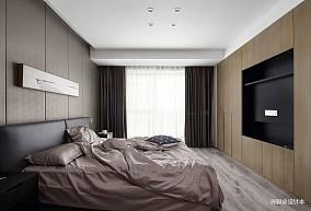 浪漫129平现代三居卧室设计效果图三居现代简约家装装修案例效果图