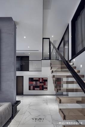 浪漫61平现代复式客厅设计效果图