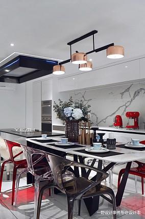简洁50平现代复式餐厅美图