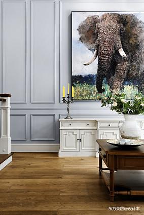 轻奢419平美式别墅装饰图片别墅豪宅美式经典家装装修案例效果图