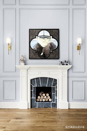 精美208平美式别墅设计图别墅豪宅美式经典家装装修案例效果图
