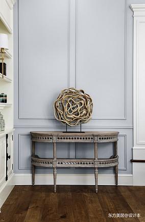 平美式别墅客厅装修装饰图别墅豪宅美式经典家装装修案例效果图