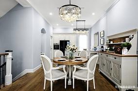 华丽611平美式别墅餐厅设计美图别墅豪宅美式经典家装装修案例效果图