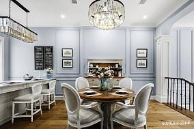 优雅686平美式别墅餐厅装修美图别墅豪宅美式经典家装装修案例效果图