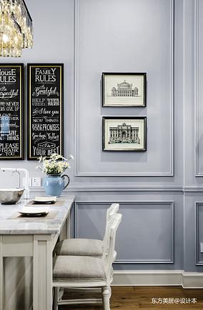 优美913平美式别墅餐厅案例图别墅豪宅美式经典家装装修案例效果图