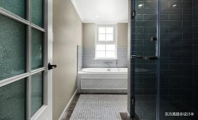 典雅479平美式别墅卫生间效果图欣赏别墅豪宅美式经典家装装修案例效果图