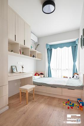 简洁98平北欧三居儿童房装修效果图