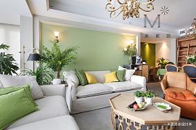 优美87平美式二居装修图片二居美式经典家装装修案例效果图