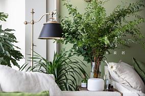 平美式二居客厅装潢图二居美式经典家装装修案例效果图