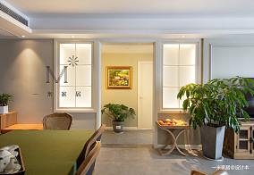 优雅145平美式二居客厅装潢图