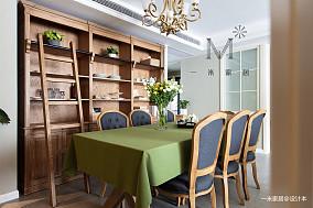 浪漫59平美式二居客厅装修效果图二居美式经典家装装修案例效果图