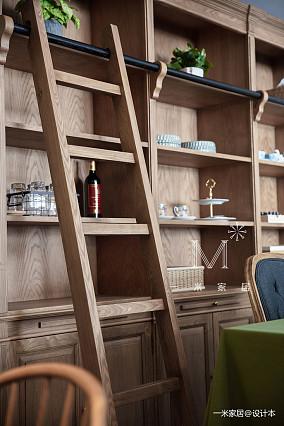 优雅55平美式二居装修图二居美式经典家装装修案例效果图