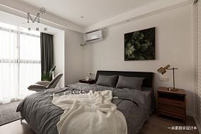 浪漫80平北欧二居卧室图片欣赏二居北欧极简家装装修案例效果图