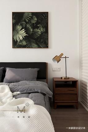 优雅55平北欧二居装修效果图二居北欧极简家装装修案例效果图