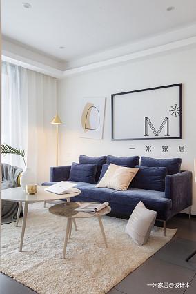 大气58平现代二居设计案例二居现代简约家装装修案例效果图