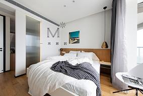 浪漫89平现代二居案例图二居现代简约家装装修案例效果图