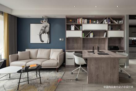 简洁113平北欧三居客厅装修美图