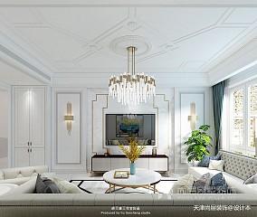 美式风格别墅样板间装修效果图_别墅软装设计公司_3384362