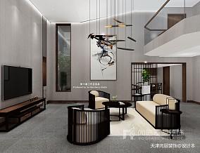 美式风格别墅样板间装修效果图_别墅软装设计公司_3384363