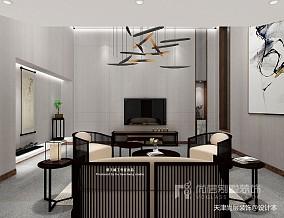 美式风格别墅样板间装修效果图_别墅软装设计公司_3384364