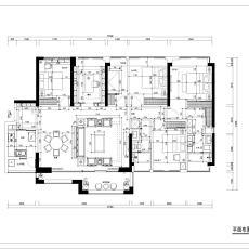 质朴151平中式四居装修效果图