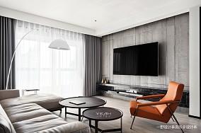 现代风格三居客厅设计