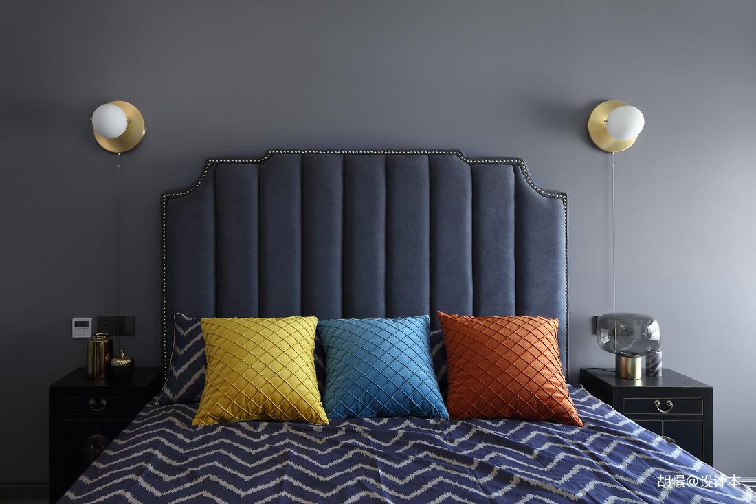 华丽102平混搭三居卧室效果图欣赏卧室