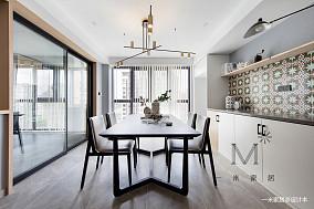 优雅70平北欧二居客厅装修图片二居北欧极简家装装修案例效果图