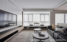 质朴136平现代三居客厅效果图欣赏