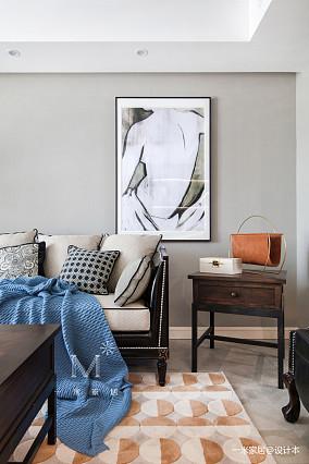 浪漫84平美式二居实景图片二居美式经典家装装修案例效果图