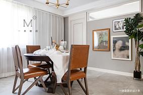 浪漫77平美式二居客厅设计效果图二居美式经典家装装修案例效果图