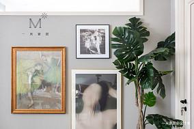 优美68平美式二居实景图片二居美式经典家装装修案例效果图