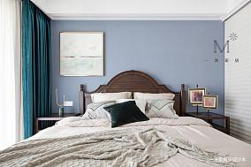 明亮79平美式二居装饰图二居美式经典家装装修案例效果图