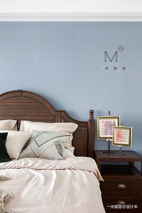 华丽84平美式二居装饰图二居美式经典家装装修案例效果图