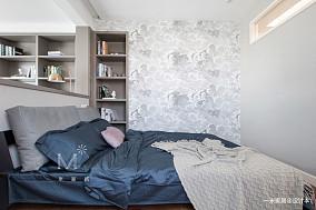 华丽67平美式二居装修图片二居美式经典家装装修案例效果图