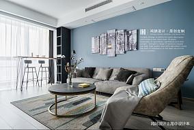 浪漫114平北欧三居客厅装修案例