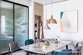 优雅59平混搭二居餐厅案例图二居潮流混搭家装装修案例效果图
