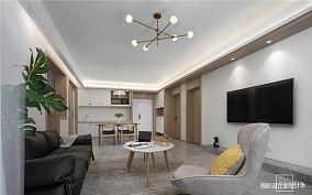 2019108平北欧三居客厅设计美图