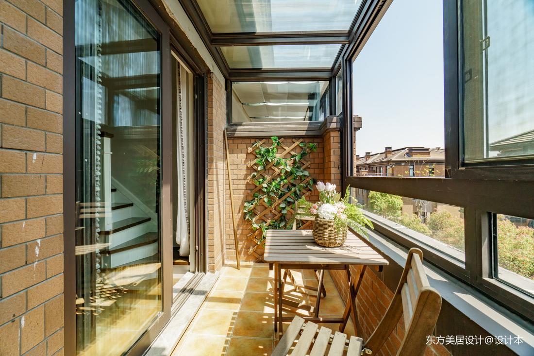 混搭自然光阳台设计阳台潮流混搭阳台设计图片赏析