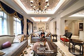 500万1000㎡欧式豪华家装装修效果图