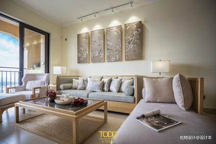 精美73平中式三居客厅装饰图