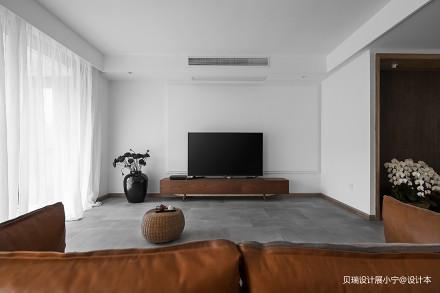 精致47平现代复式客厅装修美图