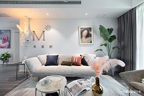 精美77平简约二居设计案例二居现代简约家装装修案例效果图