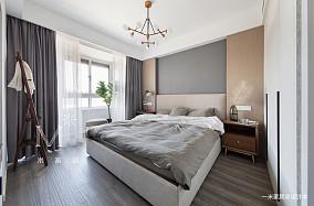 温馨57平简约二居客厅设计图二居现代简约家装装修案例效果图