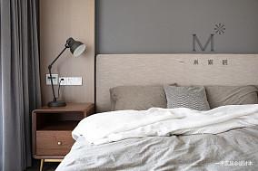 温馨67平简约二居装饰图二居现代简约家装装修案例效果图